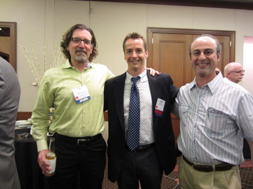 Steve Kundich, Digital Realty; Jack McCarthy, Integrated Design Group, Jud Traub, Digital Realty