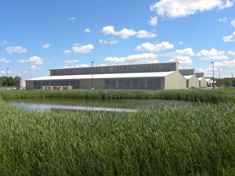 "Yahoo's ""Chicken Coop"" Data Center"